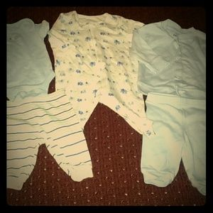 Garanimals 5 pieces all size 0-3 mos.
